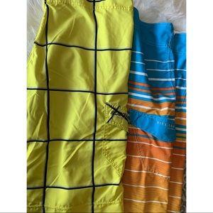Men's Billabong Board Shorts - Bundle of 2